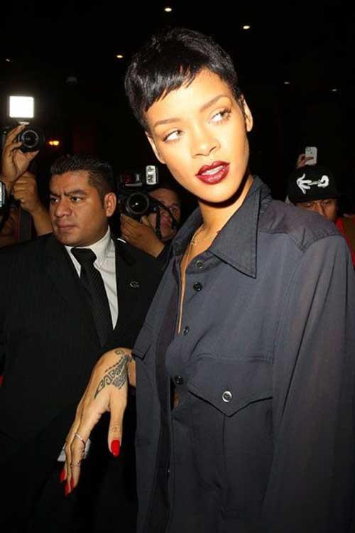 Rihanna Pixie Hair Cuts