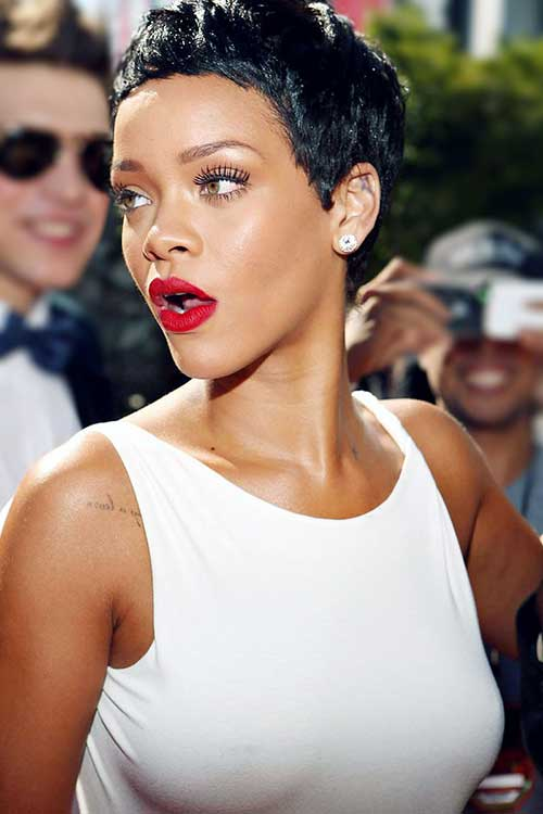 Rihanna Super Short Pixie