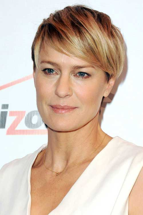 Robin Wright Short Pixie Haircuts 2015