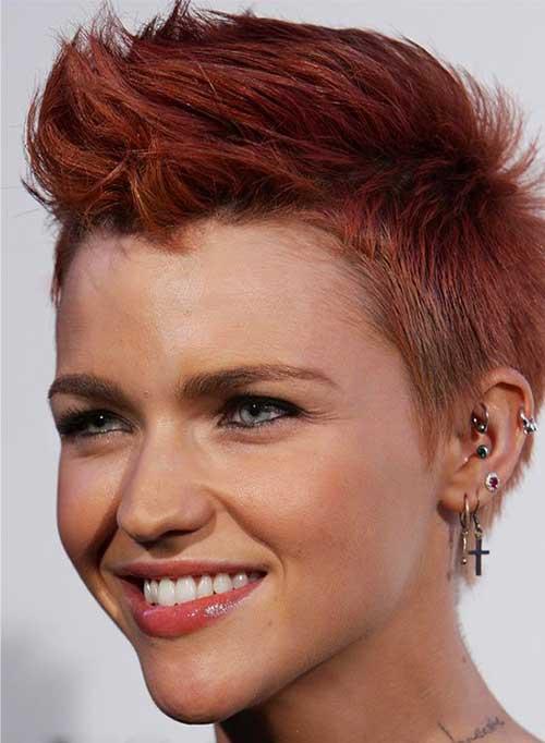 Ruby Rose Very Short Pixie Hair