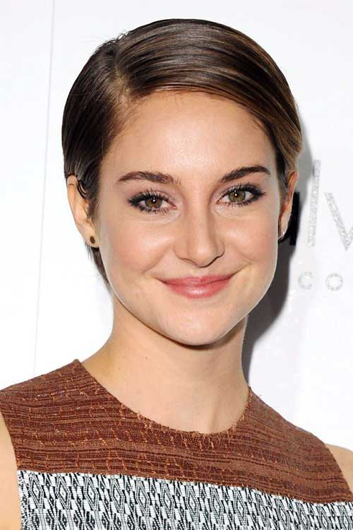 Shailene Woodley Short Pixie Hair 2016
