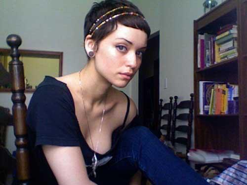 Short Pixie Hair Headband