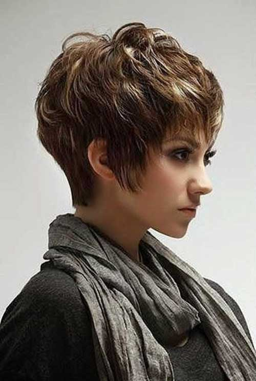 Short Pixie Hairstyles with Layers