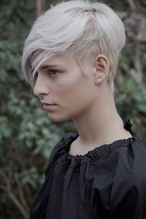 Short Pixie Hair Shaved Styles