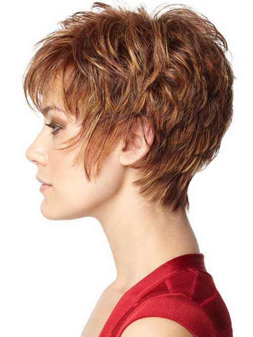 Simple Layered Pixie Haircut Ideas
