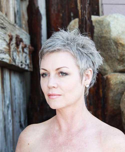 Spiky Pixie Cut Hair