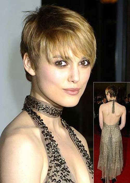 Straight Layered Hair Cropped Pixie Styles