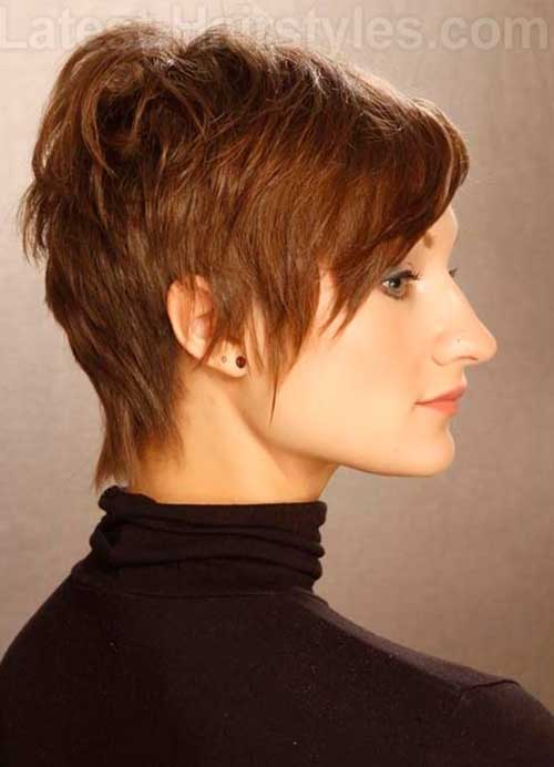 Stylish Long Pixie Haircut Ideas
