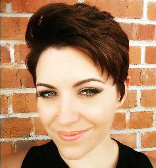 Textured Medium Pixie Hairstyles