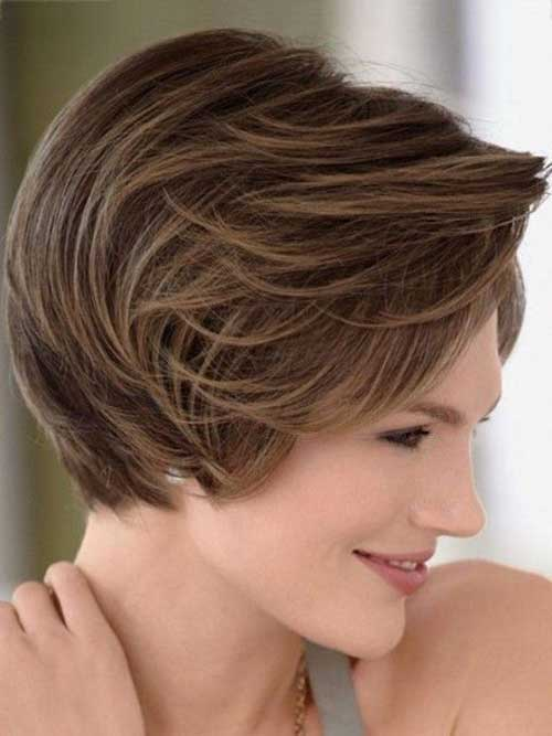 Thick Hair Pixie Haircut for Oval Face