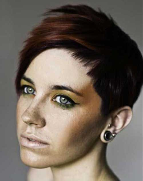 Two Tone Pixie Haircuts