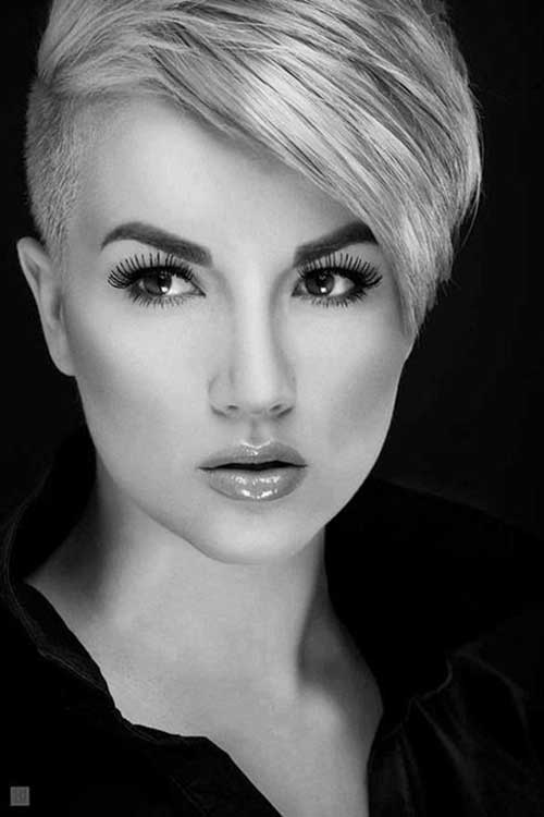 Undercut Women Short Pixie Hair