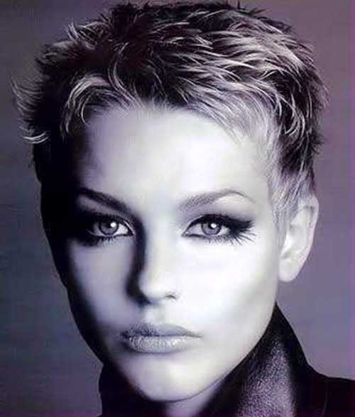 Old Style Very Short Pixie Hairstyles