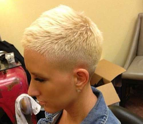 Best Very Short Platinum Blonde Pixie Cuts