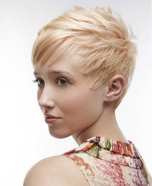 Very Short Thin Pixie Hairstyles for Women