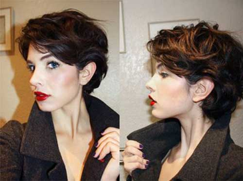 Best Wavy Pixie Cut