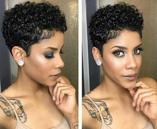 Pixie Curly Hairstyles-16