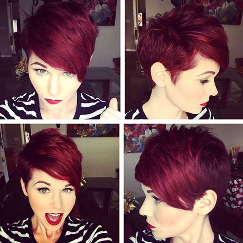 Red Pixie Hair-19