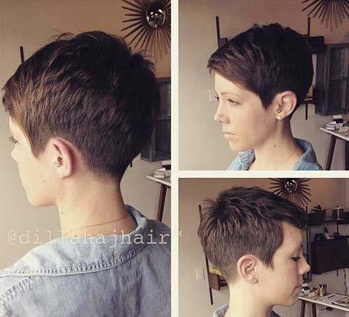 Pixie Crop Hair-20