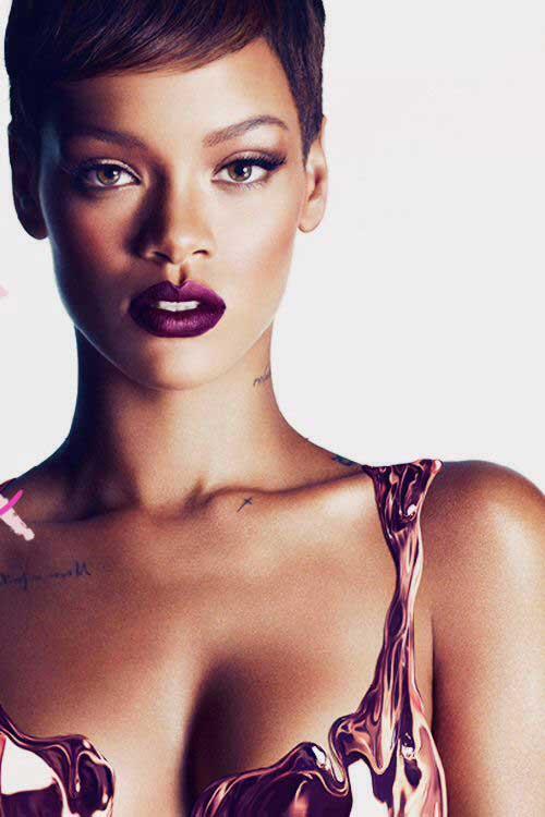 Rihanna Pixie Hair-6