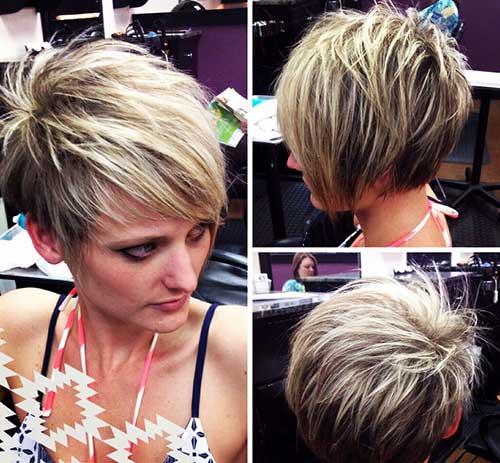 Pixie Asymmetrical Hair-7