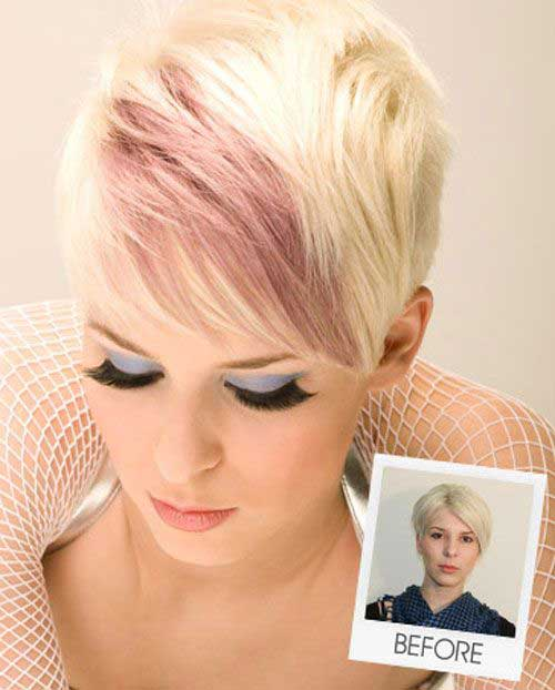 Pixie Haircut Color