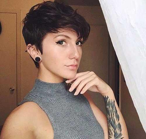 Pixie Cut Women