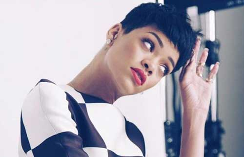 15 New Rihanna Pixie Hair