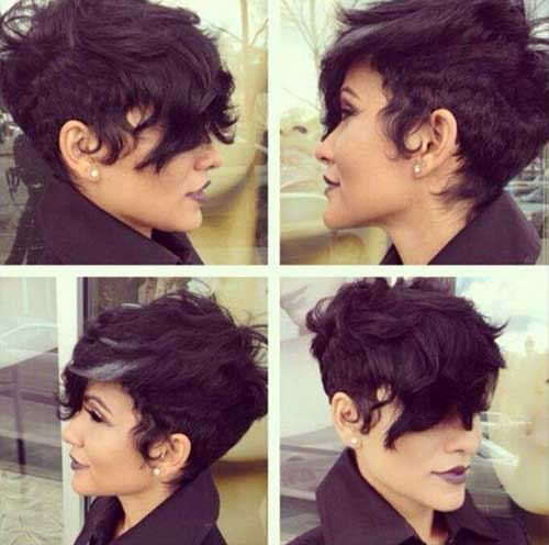 Pixie Haircuts for Wavy Hair-14