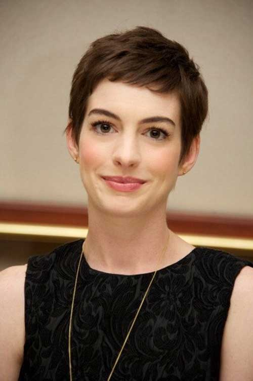 15 Best Anne Hathaway Pixie Haircuts Pixie Cut Haircut