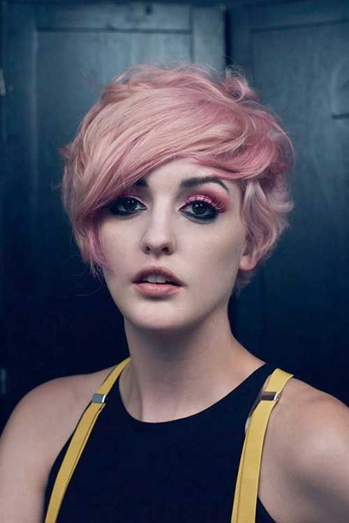 15 Pixie Cuts Pink Pixie Cut Haircut For 2019