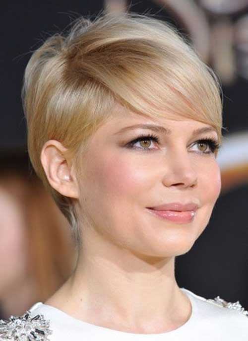 Pixie Cut Michelle Williams-15