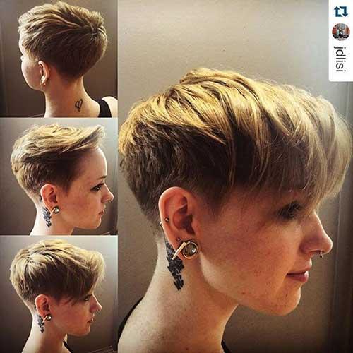 Cute Short Pixie Haircuts-7