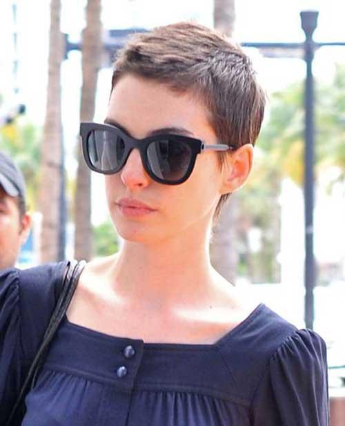 Anne Hathaway Pixie Haircuts-8
