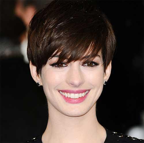 Anne Hathaway Pixie Haircuts-9