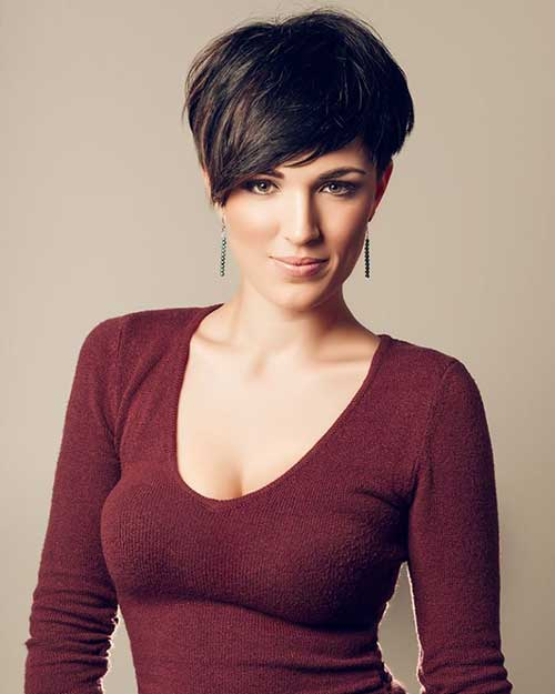 Pixie Cut with Long Bangs-9