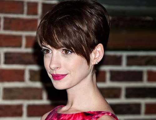 15 Best Anne Hathaway Pixie Haircuts