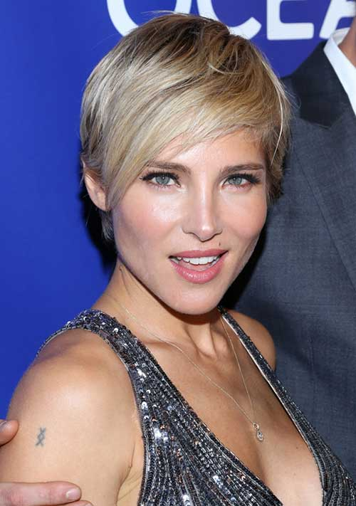 Celebrities with Pixie Cuts