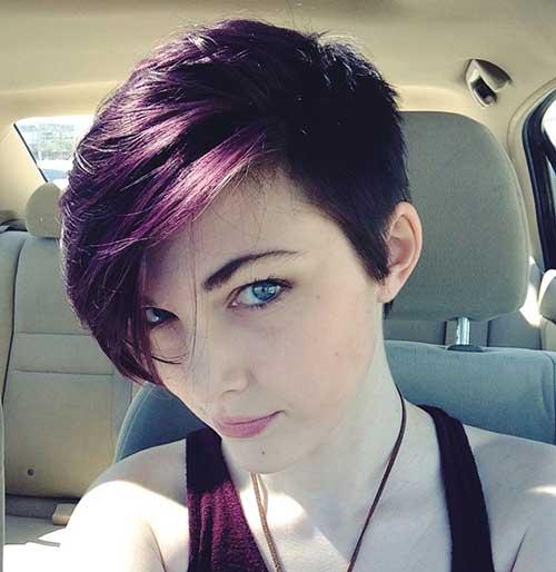 Pixie Haircut Dark Hair