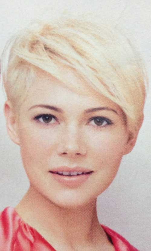 Michelle Williams Pixie Hairstyle