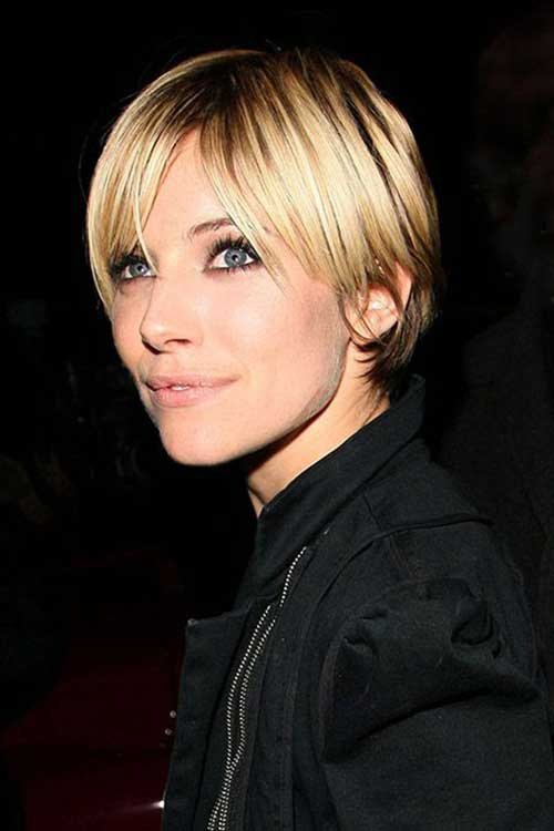 Pixie Cuts with Long Bangs