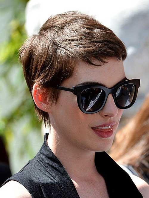 Pixie Haircut Anne Hathaway