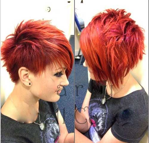 Pixie Cuts And Color-11