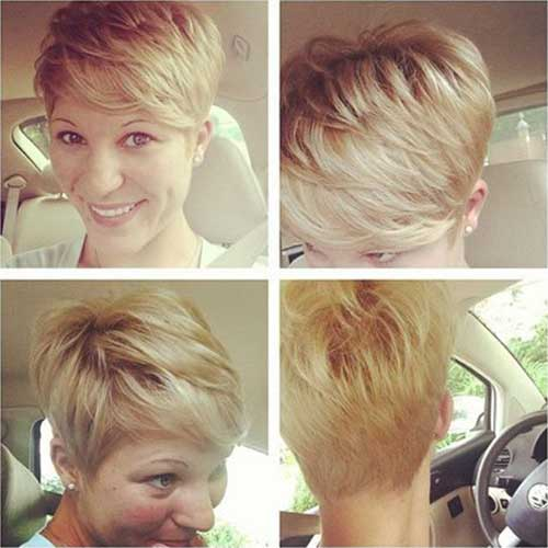 Layered Pixie Cuts 2015-18