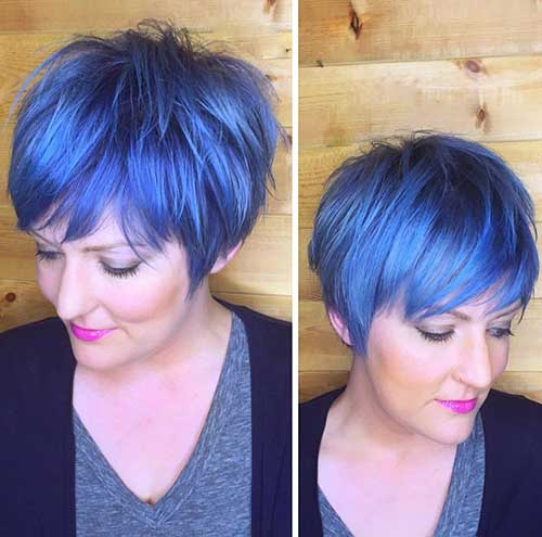 Pixie Cuts And Color-18
