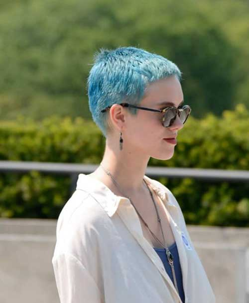Pixie Cuts And Color-19