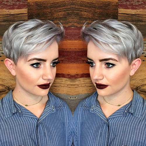 Pixie Cuts And Color-25