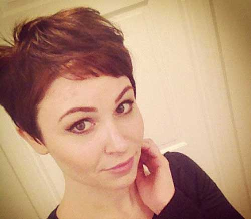 20+ Brown Pixie Cuts
