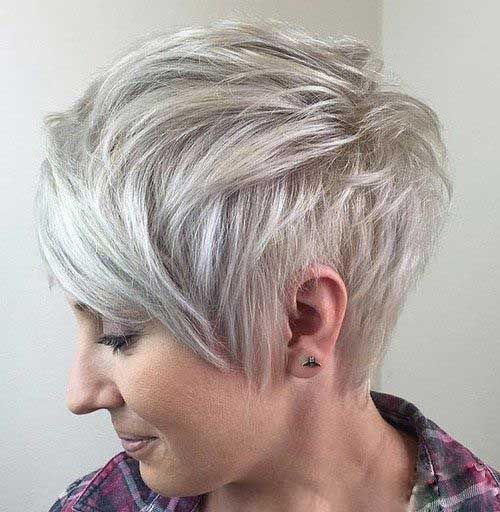 Short Choppy Pixie Cut