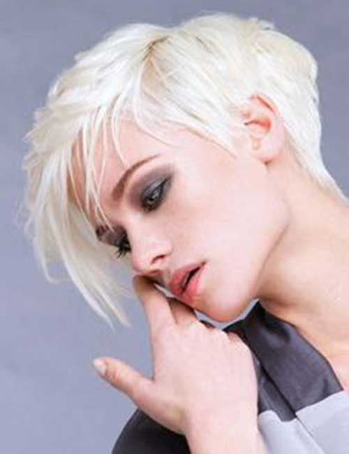 Popular Asymmetrical Pixie Haircuts